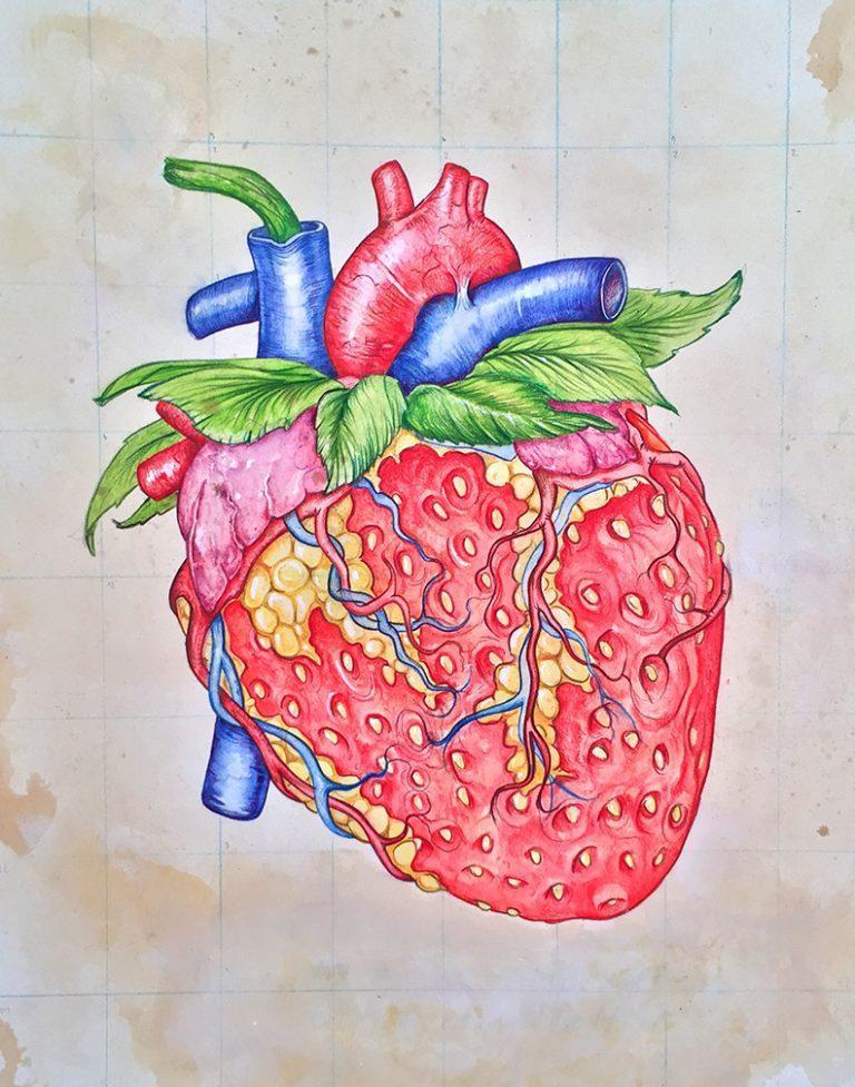 Watercolor Pencil on Board