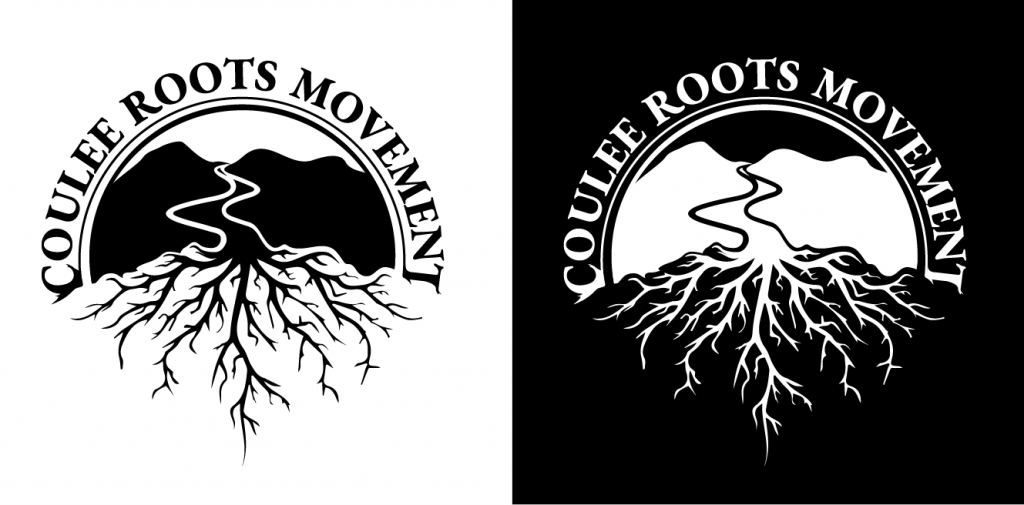 LOGO: Coulee Roots Movement